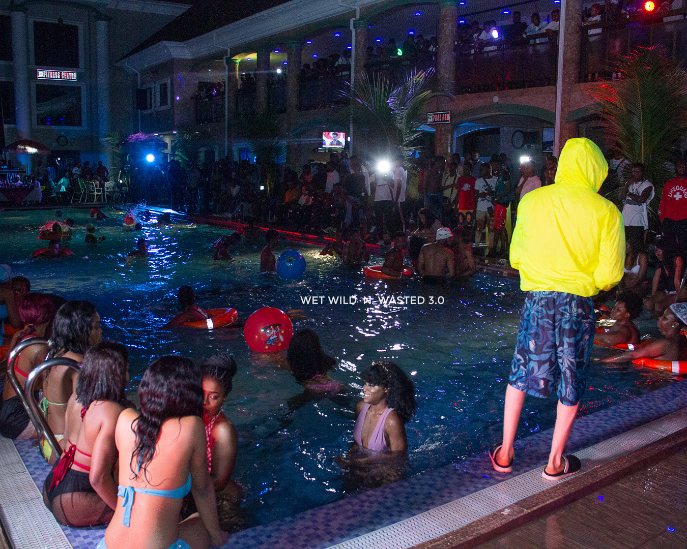 The Pool Party That Got Many People Wasted(WET WILD