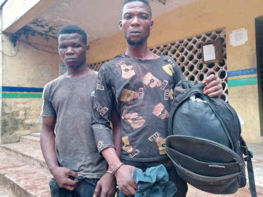 Police arrest two suspects who killed Okada man in Ogun, buried the corpse in shallow grave and sold his motorcycle for N120,000