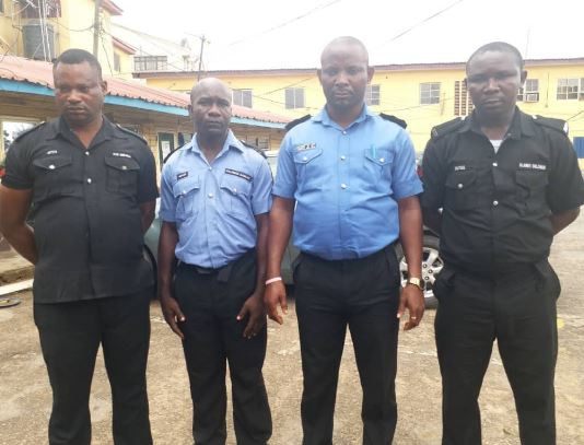 Update:?The four police men who shot and killed unarmed suspects in Lagos have been dismissed and remanded in prison custody