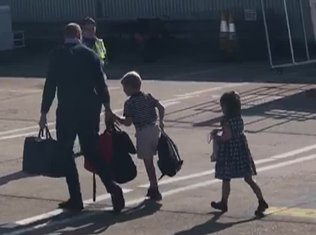 Prince William, Kate Middleton and their kids fly commercial amid row over Prince Harry and Meghan Markle
