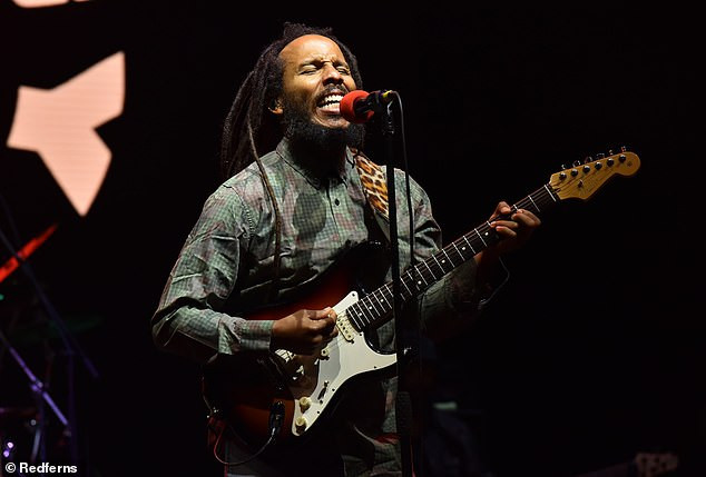 Bob Marley's son Ziggy Marley reveals he started smoking marijuana at 9