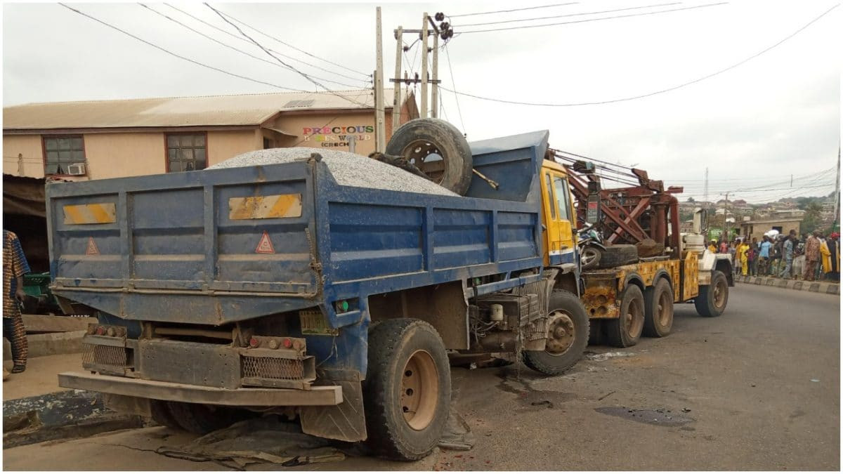 Truck driver flees after crushing soldier in Abeokuta