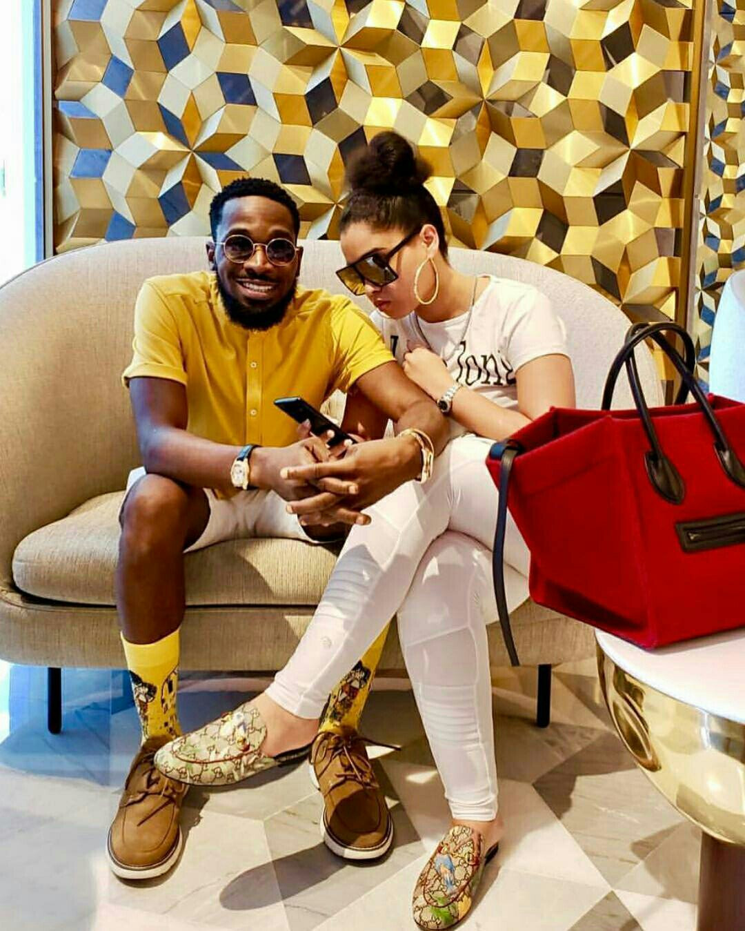 D'banj announces he's going to be a father in few months (video)