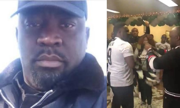 Actor Femi Ogedengbe reacts to video of lavish party held by one of the suspects arrested by the FBI