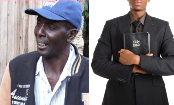 Kenyan Bishop snatches man