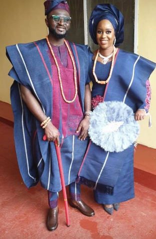 First photos from the wedding ceremony of Tee-Y Mix and Ivie Ogbonmwan