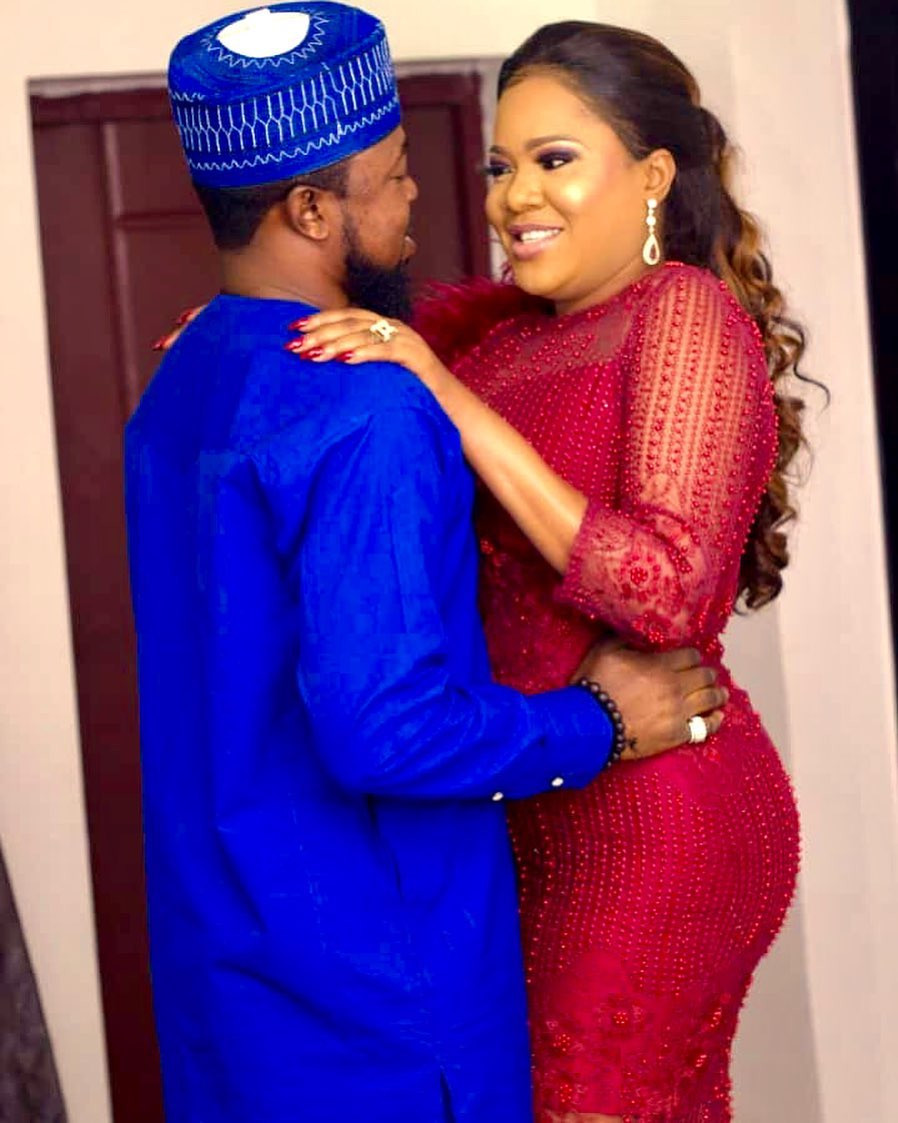 Men need to worship their women - Kolawole Ajeyemi gushes about Toyin Abraham