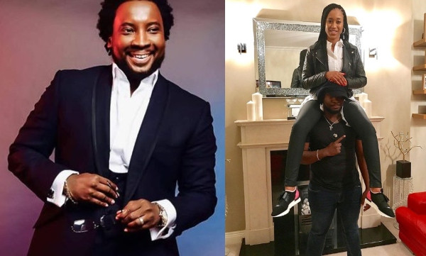 Gospel Singer, Sonnie Badu shares loved up photo with his wife on 5th wedding anniversary