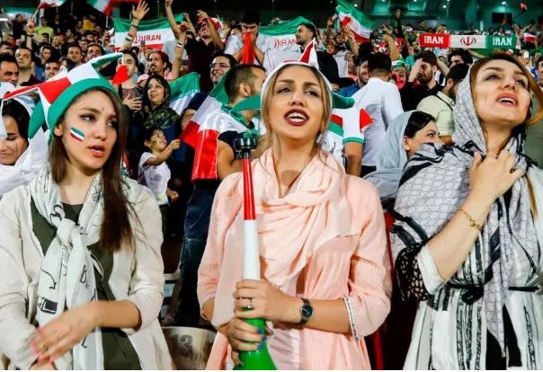 Since 1979 Islamic revolution, Iranian female fans will be allowed entry into the stadium to watch men's football for the first time