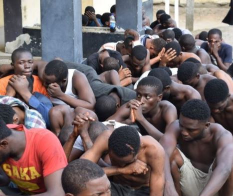 Lagos?Police arrest 25 suspected cultists within 24-hours