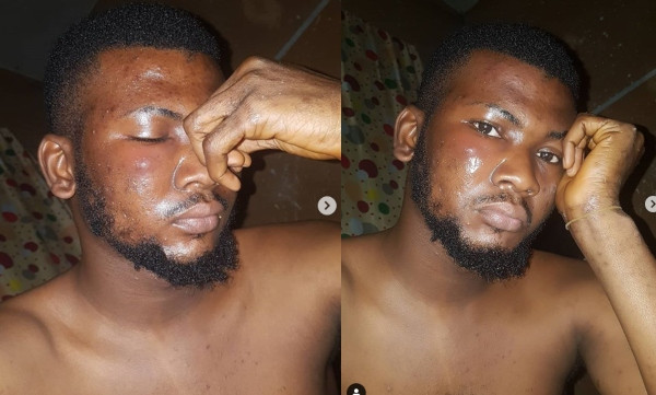 DJ Muse punched by Lagos policeman for not having a
