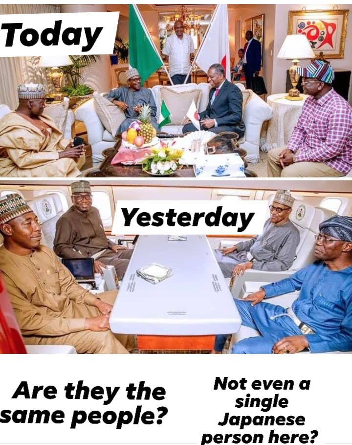 Stop showing us photoshopped photos, Buhari is not in Japan- Nnamdi Kanu tells Presidency