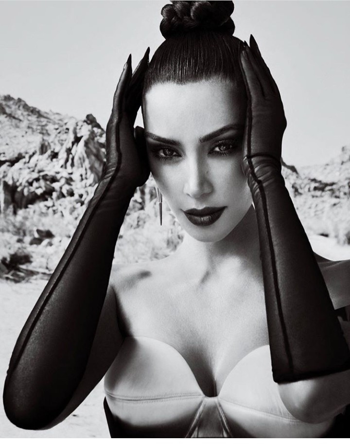 Kim Kardashian features on three covers for Vogue Arabia September issue (photos)