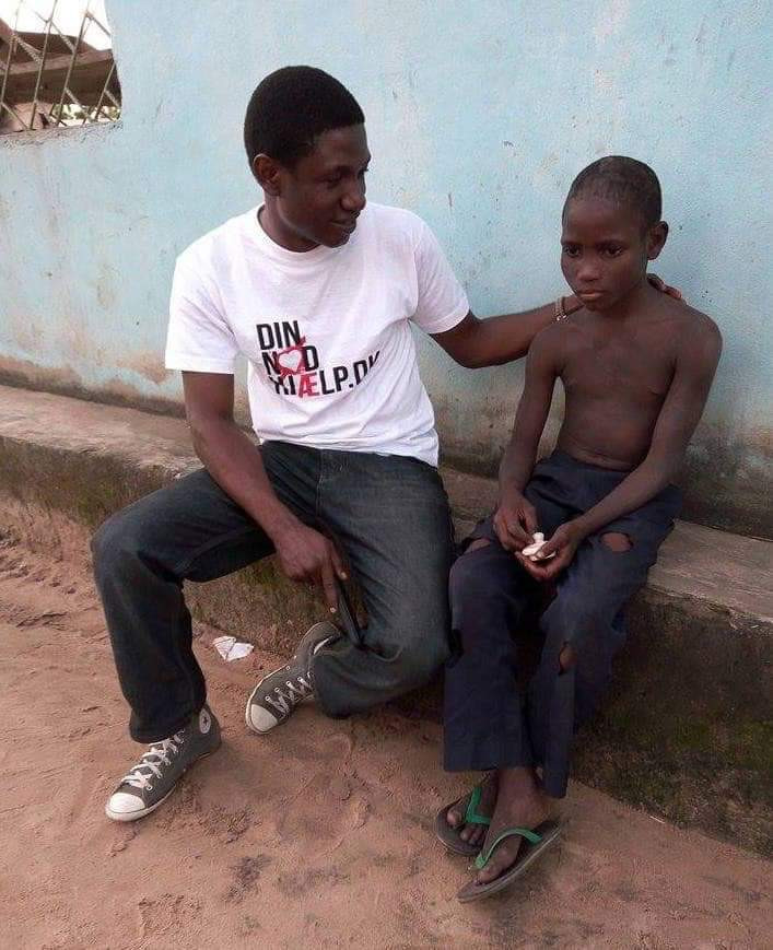 Amazing transformation! Young boy all smiles 4 years after he was branded a witch, abused and abandoned by his family