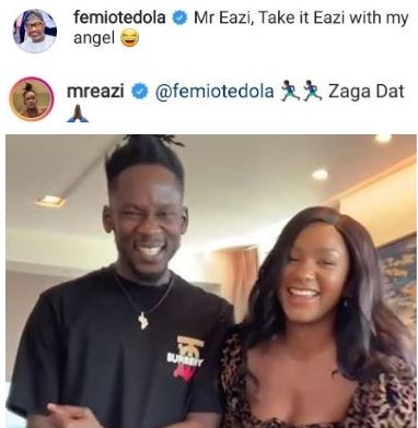 MR  EAZI HAS BEEN ADVISED TO TAKE IT EASY WITH FEMI