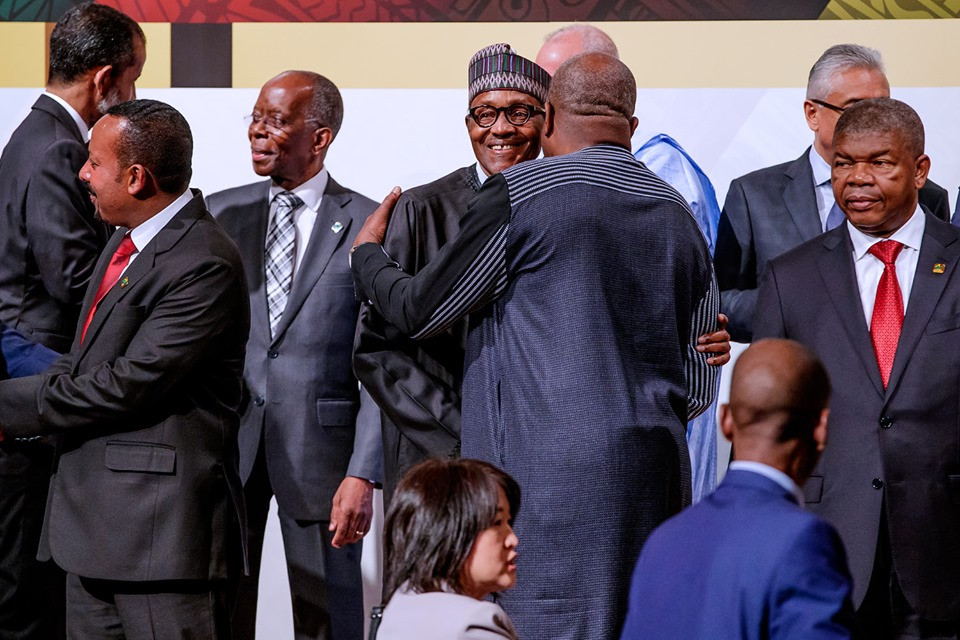 Photos: President Buhari at the opening session of the 7th Tokyo International Conference on African Development in Japan