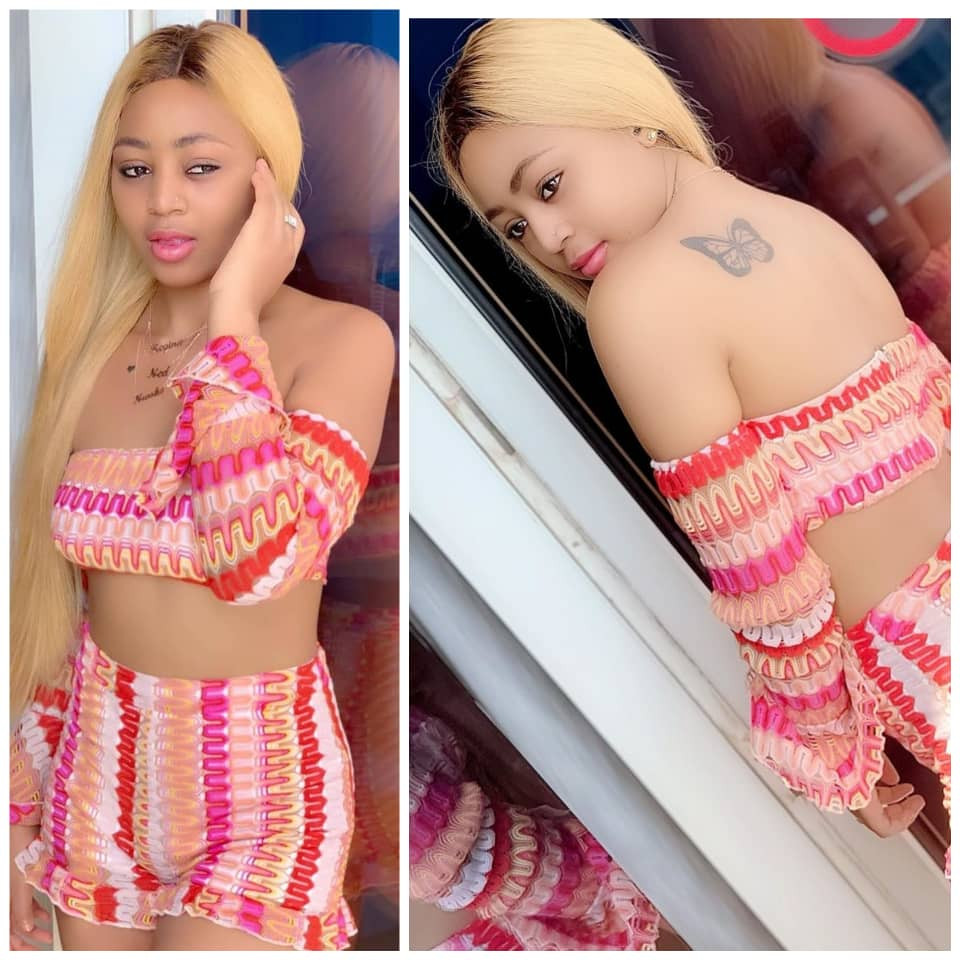 Regina Daniels shows off midriff in sexy new photos