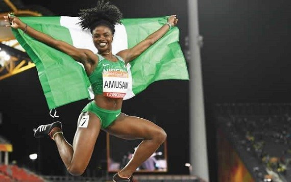 Tobi Amusan breaks 20-year record to retain title
