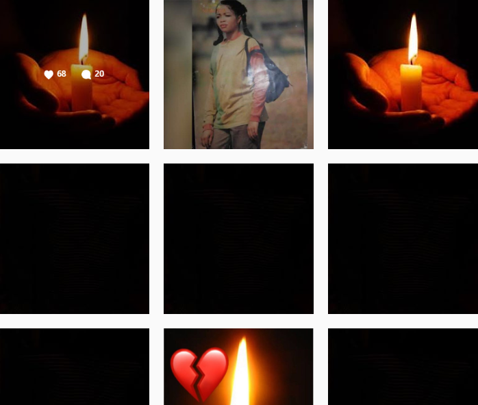 Heartbroken Chified mourns death of her sister by taking down all her Instagram posts