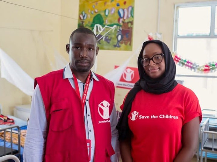 DJ Cuppy pays visit to victims of conflict in Borno state (photos/video)