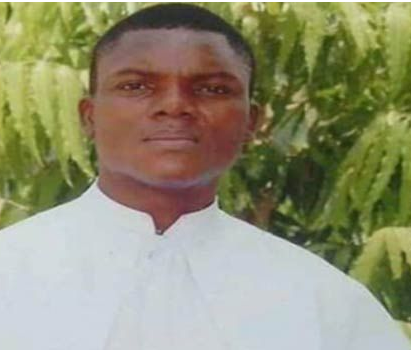 Photo of the catholic priest killed and set ablaze by armed bandits in Taraba