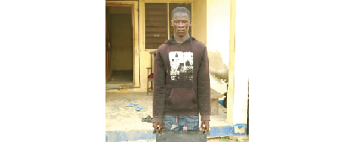 Man arrested for robbing a mosque in Niger state