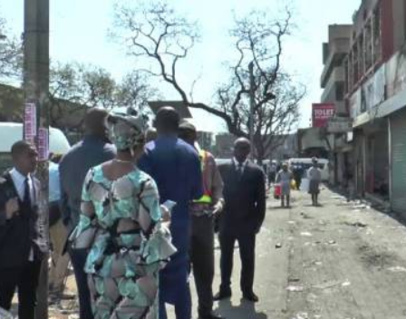 Nigerians stage protest at the Nigerian High Commission in Pretoria over xenophobic attacks