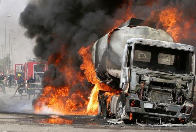 One killed, 19 vehicles burnt in Niger State tanker explosion