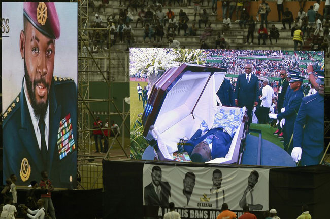 Photos and videos from late DJ Arafat Grand Funeral Concert