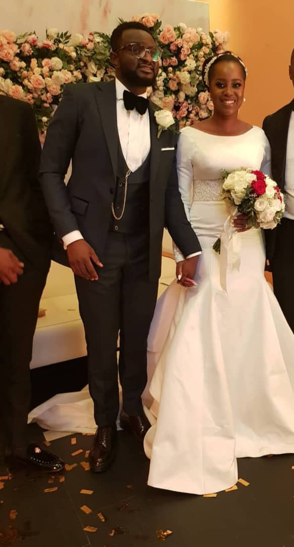Photos from the white wedding of music producer, Tee-Y Mix