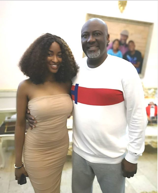 Sen. Dino Melaye hosts evicted Big Brother Naija housemates at his Abuja residence?(Photos)