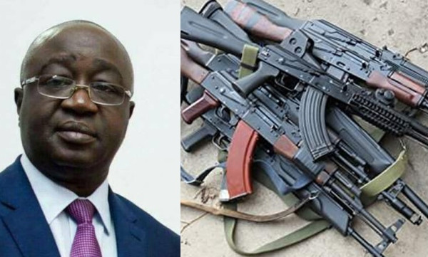 50 AK-47 rifles recovered from Nasarawa Deputy Governor