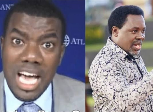"""I want nothing to do with him or with anyone connected to him"" Reno Omokri answers follower who asked if TB Joshua is of God"