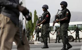 Lagos police arrest armed robbery suspect in a church retreat, recover firearms