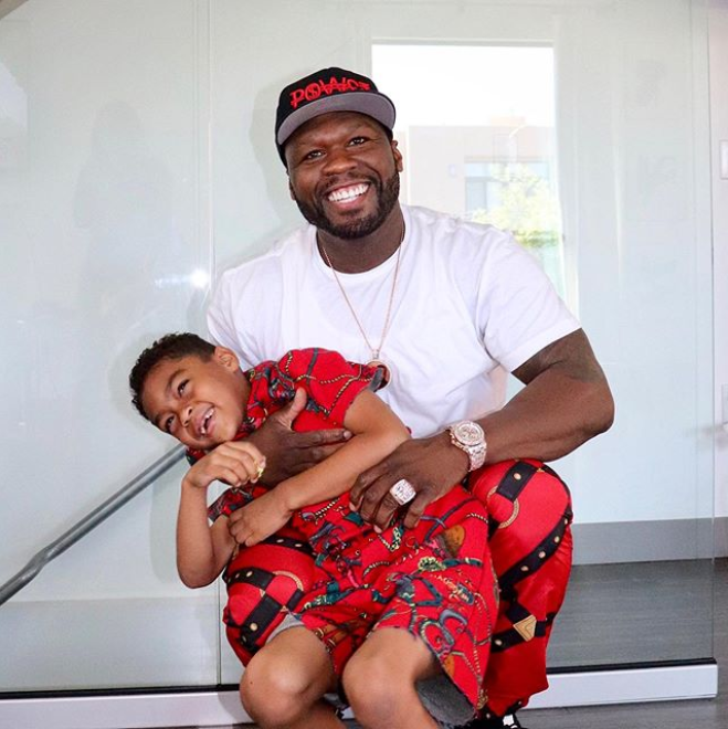 50 Cent and ex-girlfriend Daphne Joy reunite for their son