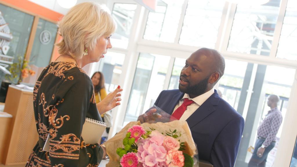 William Abada Iwuchukwu bags award for humanitarian services in Amsterdam
