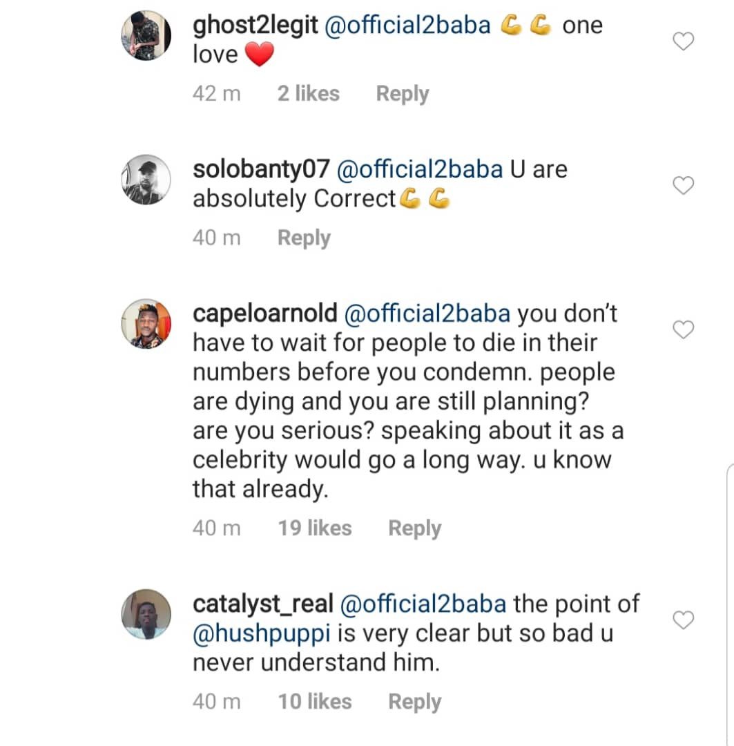Hushpuppi attacks Nigerian celebrities yet to speak against recent Xenophobic attacks in South Africa, 2face Idibia reacts