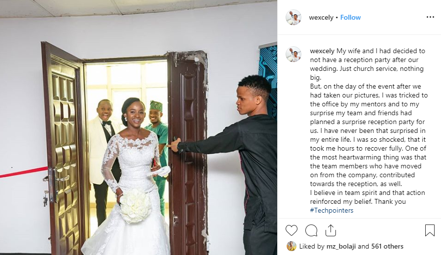 Couple whose wedding IV had
