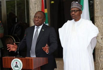 President Buhari breaks silence on recent xenophobic attacks on Nigeria, sends special envoy to South Africa