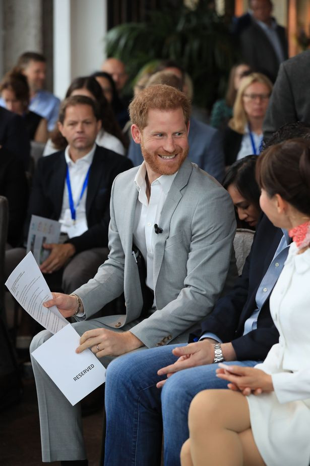 "Prince Harry says he flies commercial 99% of the time and only flies private jet to ""keep his family safe"""