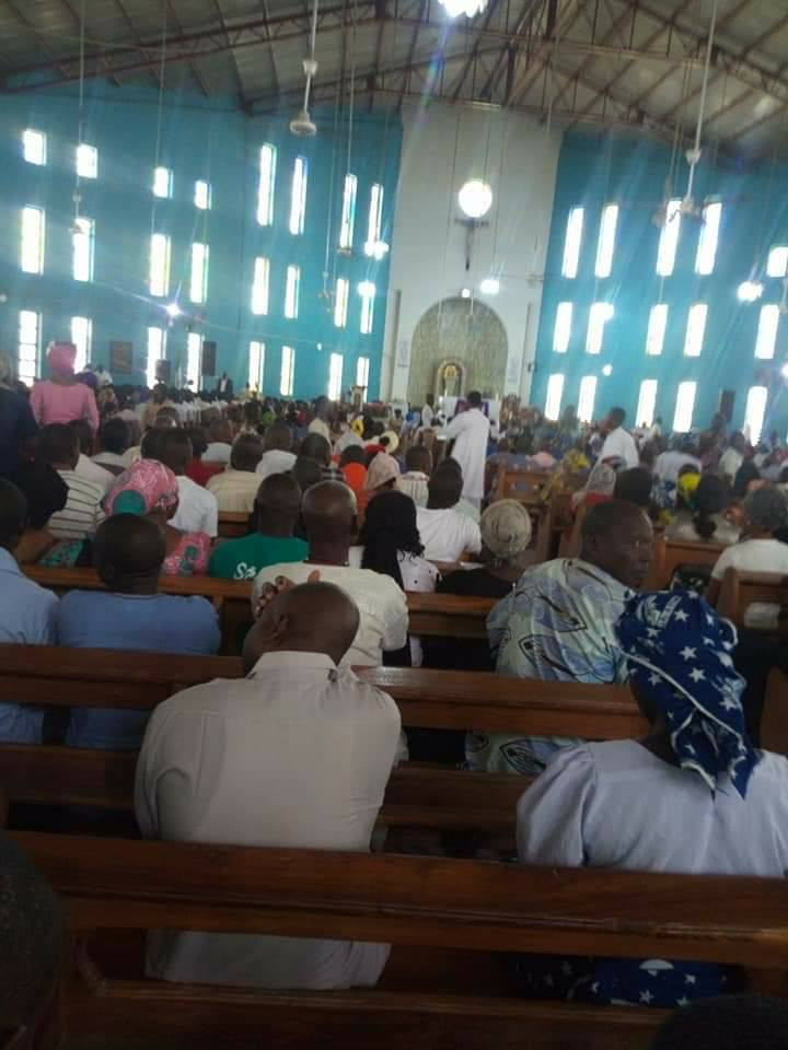 Catholic priest who was killed in in Taraba has been laid to rest (photos)