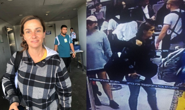 US woman caught hiding week-old baby in flight bag in Philippines