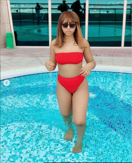 Regina Daniels puts her banging bikini body on display in new stunning photos