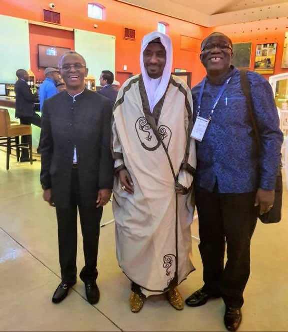Xenophobia: Twitter users slam Fayemi, El-Rufai, Sanusi for attending event in South Africa