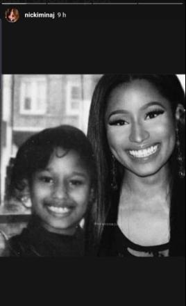 When a good girl gone, she gone forever - Nicki Minaj shares her verse on