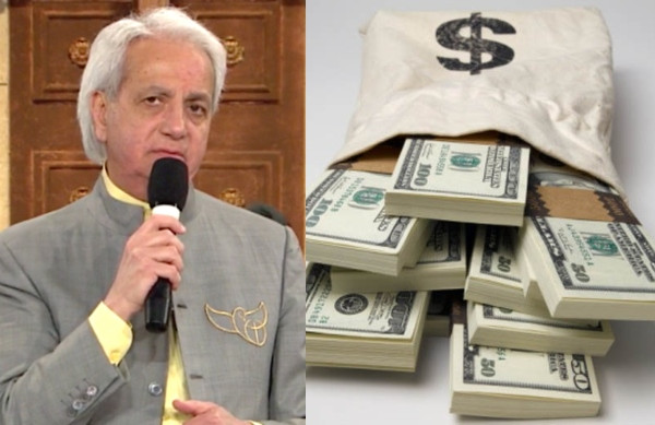 Televangelist Benny Hinn announces that