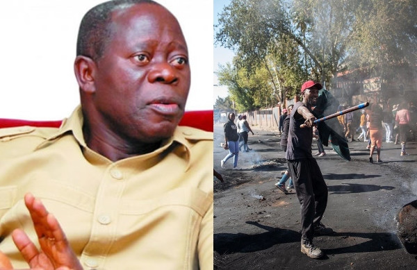 Xenophobia: Oshiomhole asks FG to take over South African-owned businesses