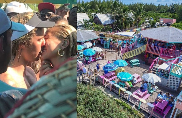 Hurricane Dorian destroys beach bar in Bahamas where Justin Bieber celebrated engagement