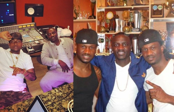 Contracts are not honored in Nigeria - Akon says as he revealed that he signed Davido, Psquare and others (video)
