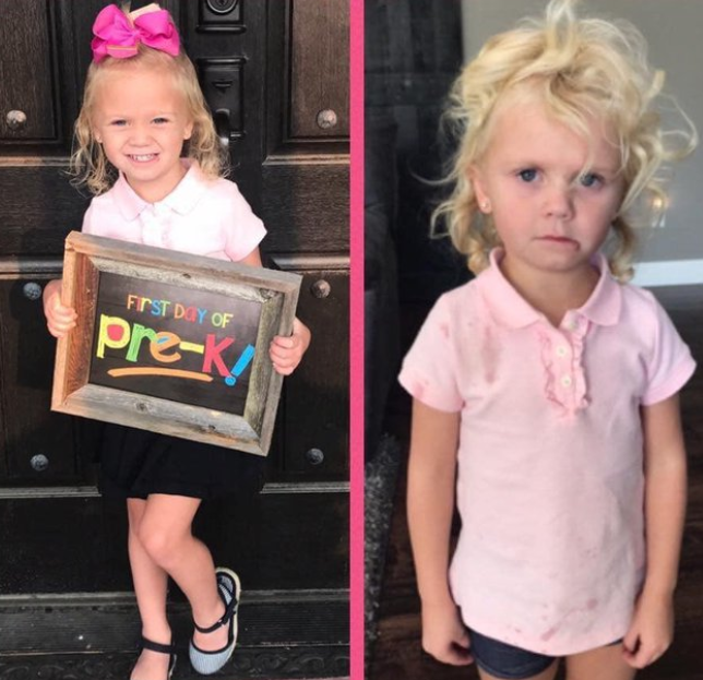 Hilarious photos show kids